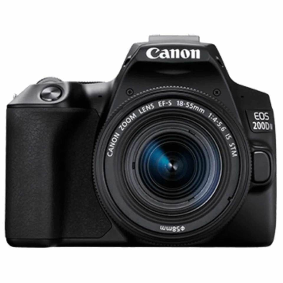 Canon 200D Mark II DSLR 18-55mm Lens Kit 200DIIKIS