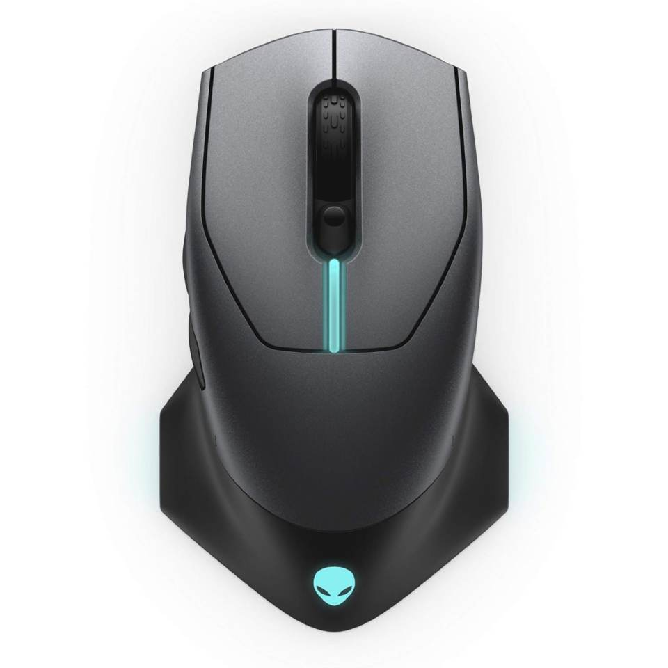 Alienware 610M Wireless Gaming Mouse (Dark Grey) 570-ABCS