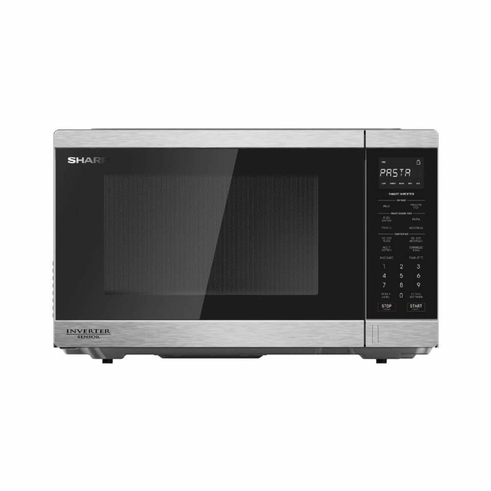Sharp 1200W Inverter Microwave S/Steel R395EST
