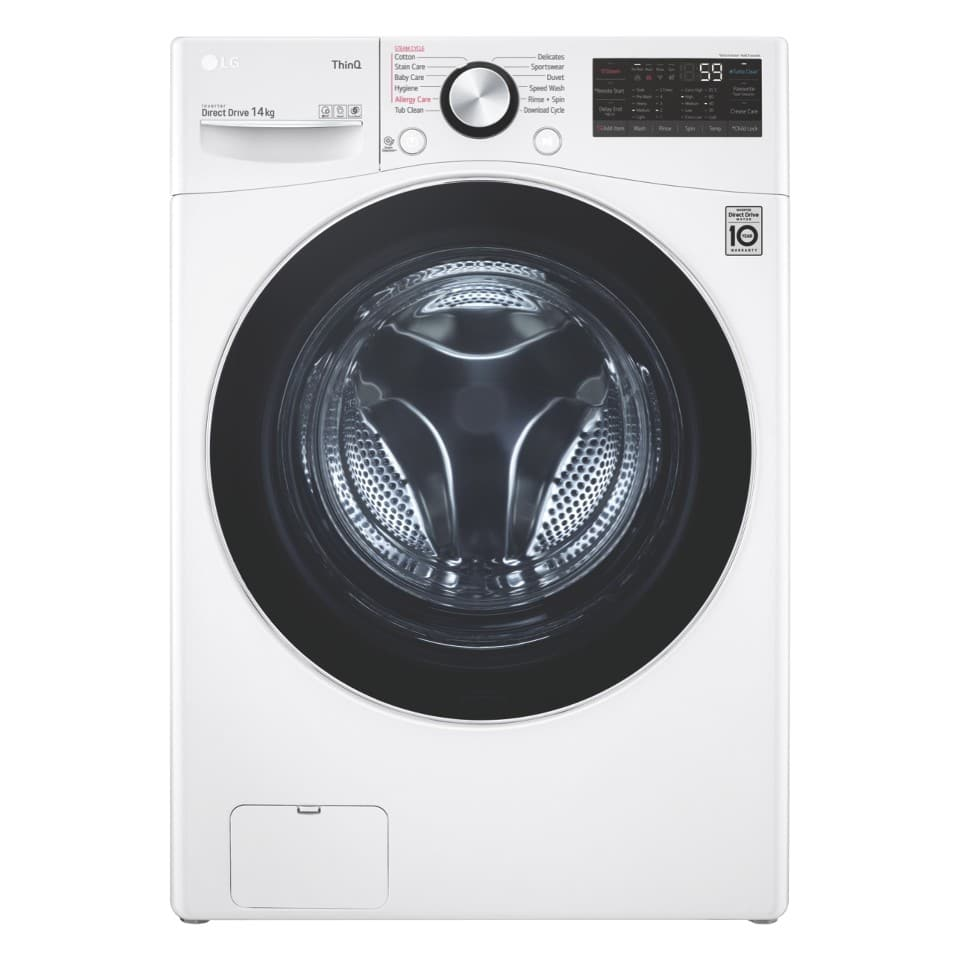 LG 14kg Front Load Washer WXL-1014W